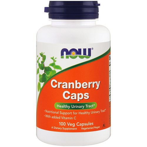 Now Foods, Cranberry Caps, 100 Veg Capsules Review