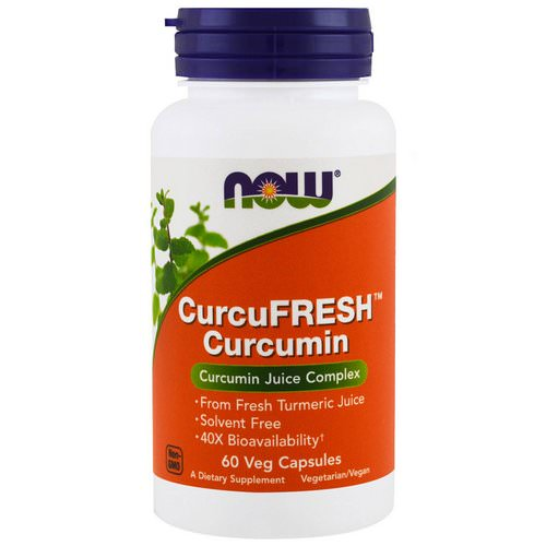 Now Foods, CurcuFresh Curcumin, 60 Veggie Caps Review