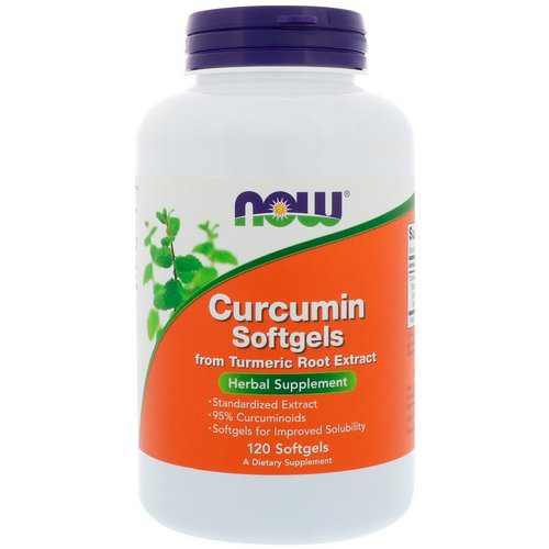 Now Foods, Curcumin, 120 Softgels Review