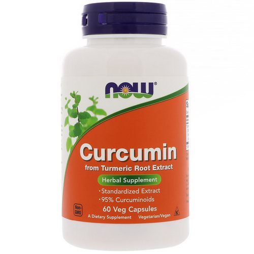 Now Foods, Curcumin, 60 Veg Capsules Review