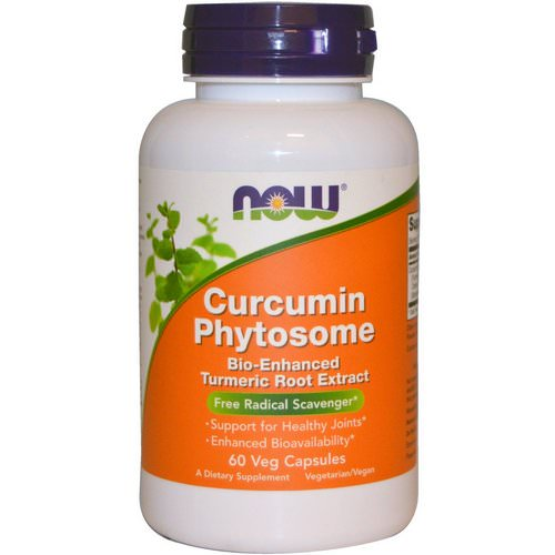 Now Foods, Curcumin Phytosome, 60 Veggie Caps Review
