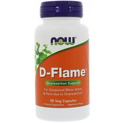 Now Foods, D-Flame, 90 Veg Capsules Review