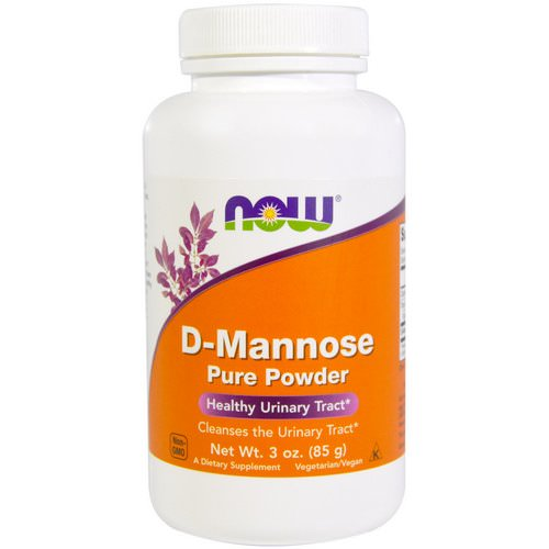 Now Foods, D-Mannose Pure Powder, 3 oz (85 g) Review