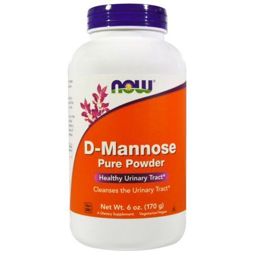 Now Foods, D-Mannose Pure Powder, 6 oz (170 g) Review