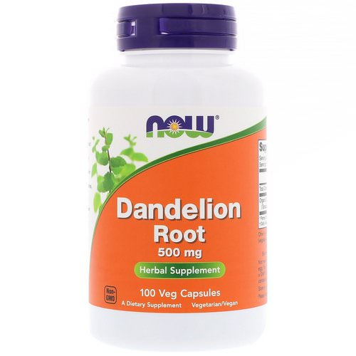 Now Foods, Dandelion Root, 500 mg, 100 Veg Capsules Review