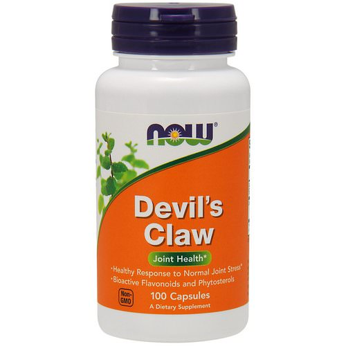 Now Foods, Devil's Claw, 100 Capsules Review