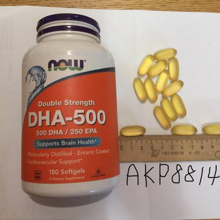 Supplements Fish Oil Omegas EPA DHA DHA Now Foods