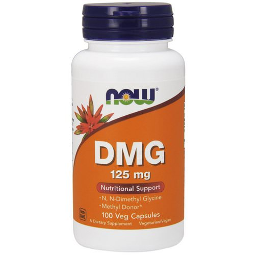Now Foods, DMG, 125 mg, 100 Veg Capsules Review