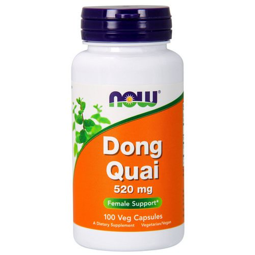 Now Foods, Dong Quai, 520 mg, 100 Veg Capsules Review