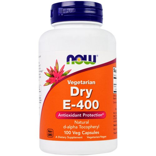 Now Foods, Dry E-400, Vegetarian, 100 Veggie Caps Review