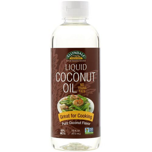 Now Foods, Ellyndale Naturals, Liquid Coconut Oil, Pure Coconut Flavor, 16 fl oz (473 ml) Review