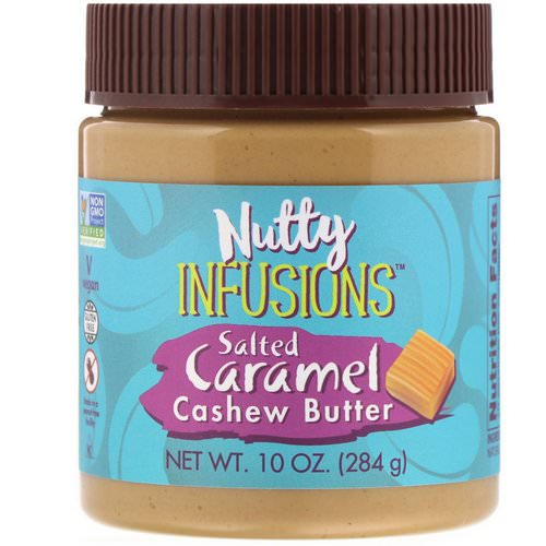 Now Foods, Ellyndale Naturals, Nutty Infusions, Salted Caramel Cashew Butter, 10 oz (284 g) Review