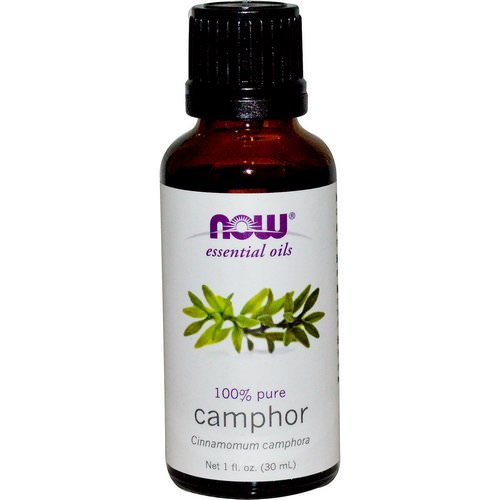 Now Foods, Essential Oils, Camphor, 1 fl oz (30 ml) Review