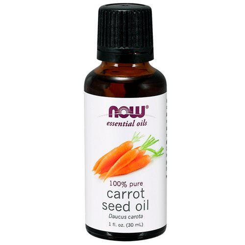 Now Foods, Essential Oils, Carrot Seed Oil, 1 fl. oz. (30 ml) Review
