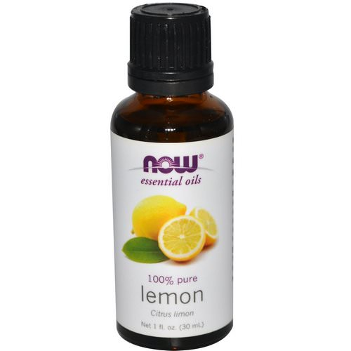 Now Foods, Essential Oils, Lemon, 1 fl oz (30 ml) Review