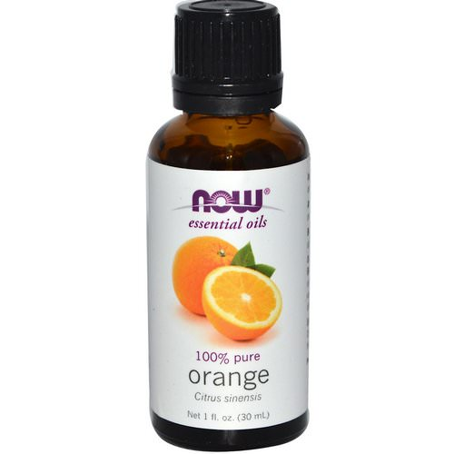 Now Foods, Essential Oils, Orange, 1 fl oz (30 ml) Review