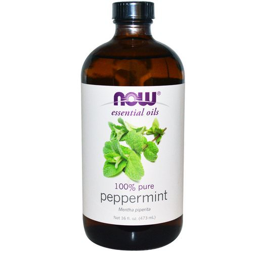 Now Foods, Essential Oils, Peppermint, 16 fl oz (473 ml) Review