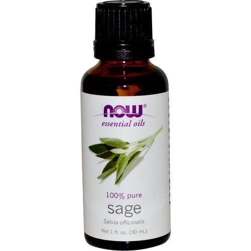 Now Foods, Essential Oils, Sage, 1 fl oz (30 ml) Review