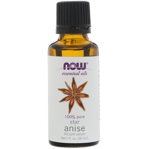 Now Foods, Essential Oils, Star Anise, 1 fl oz (30 ml) Review