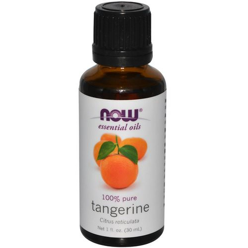 Now Foods, Essential Oils, Tangerine, 1 fl oz (30 ml) Review