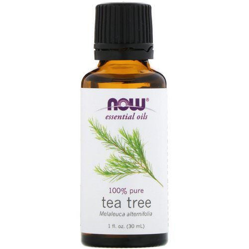 Now Foods, Essential Oils, Tea Tree, 1 fl oz (30 ml) Review