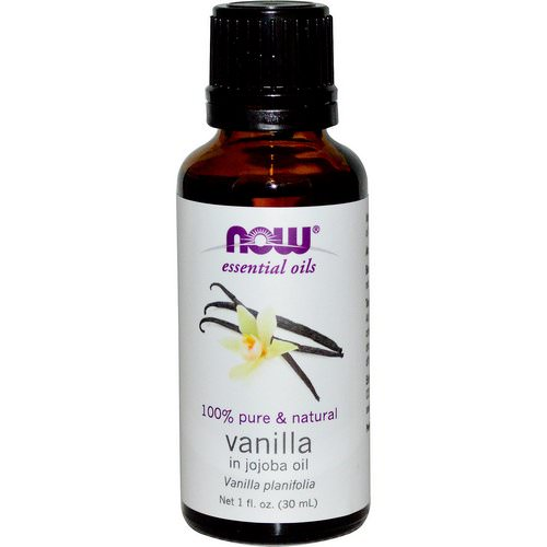 Now Foods, Essential Oils, Vanilla, In Jojoba Oil, 1 fl oz (30 ml) Review