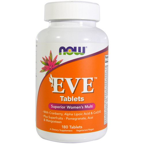 Now Foods, EVE, Superior Women's Multi, 180 Tablets Review