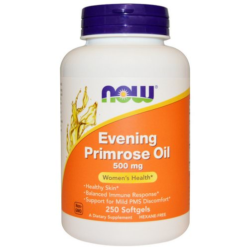 Now Foods, Evening Primrose Oil, 500 mg, 250 Softgels Review