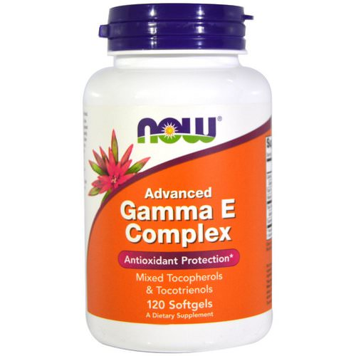 Now Foods, Gamma E Complex, Advanced, 120 Softgels Review