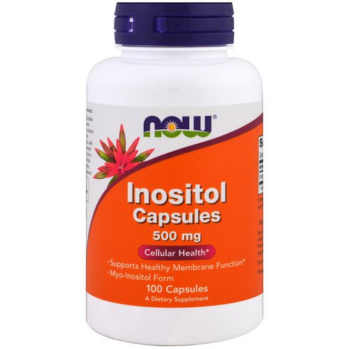 Now Foods, Inositol Capsules, 500 mg, 100 Capsules Review