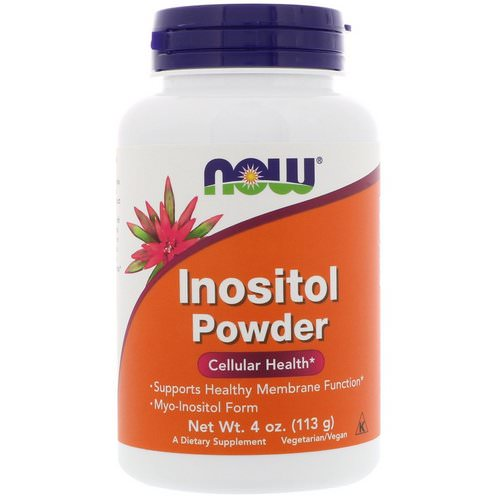Now Foods, Inositol Powder, 4 oz (113 g) Review