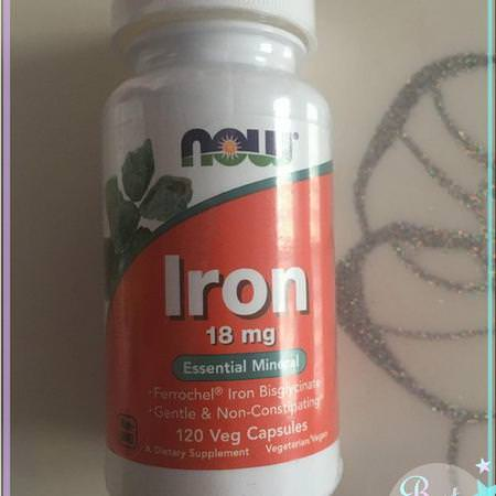 Now Foods Supplements Minerals Iron
