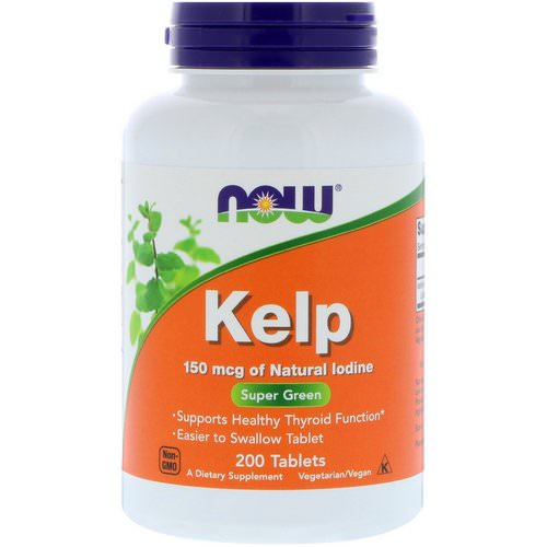 Now Foods, Kelp, 150 mcg, 200 Tablets Review