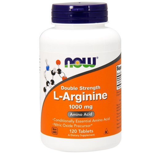 Now Foods, L-Arginine, 1,000 mg, 120 Tablets Review