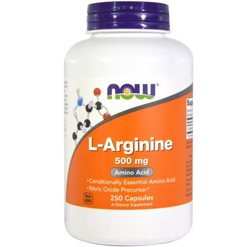 Now Foods, L-Arginine, 500 mg, 250 Capsules Review