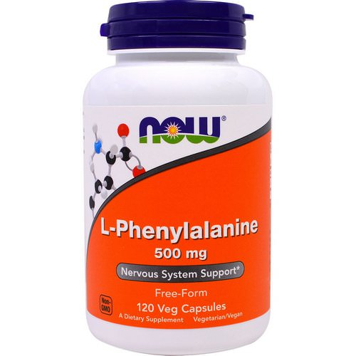 Now Foods, L-Phenylalanine, 500 mg, 120 Veggie Caps Review
