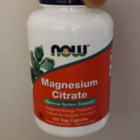 Supplements Minerals Magnesium Non Gmo Now Foods