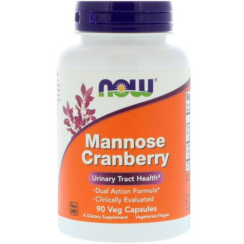 Now Foods, Mannose Cranberry, 90 Veg Capsules Review