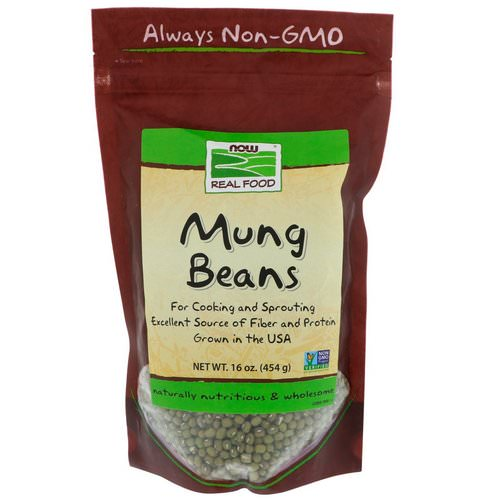 Now Foods, Mung Beans, 16 oz (454 g) Review