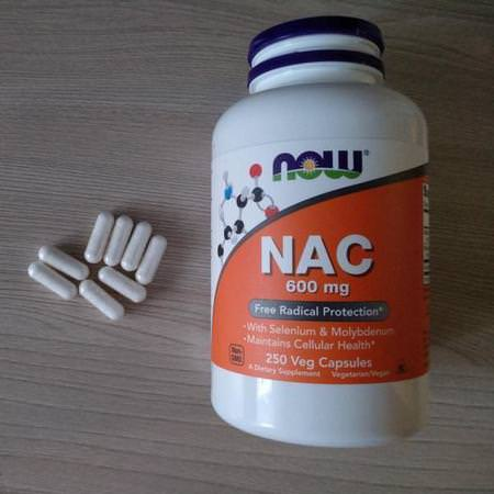 Now Foods, NAC, 600 mg, 100 Veg Capsules Review