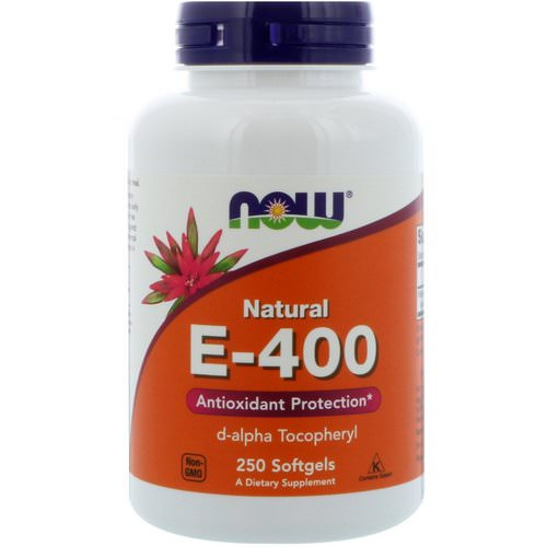 Now Foods, Natural E-400, 250 Softgels Review
