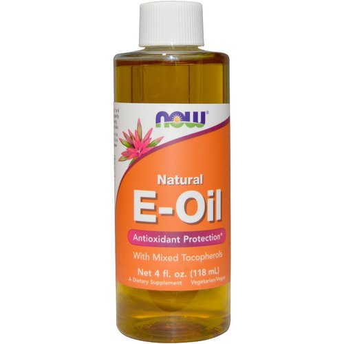 Now Foods, Natural E-Oil, Antioxidant Protection, 4 fl oz (118 ml) Review