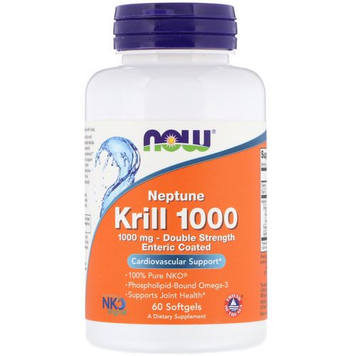 Now Foods Krill Oil Neptune 1000