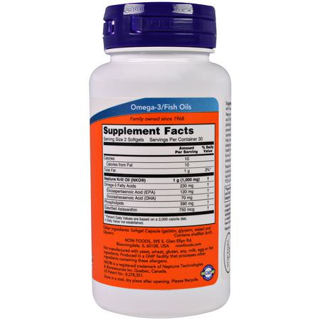 Krill Oil, Omegas EPA DHA, Fish Oil, Supplements