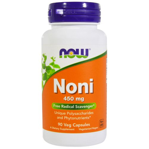 Now Foods, Noni, 450 mg, 90 Veggie Caps Review