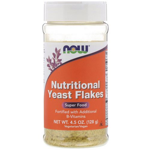 Now Foods, Nutritional Yeast Flakes, 4.5 oz (128 g) Review