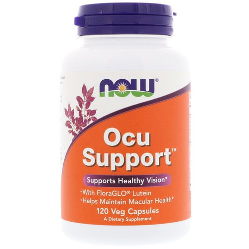 Now Foods, Ocu Support, 120 Veg Capsules Review