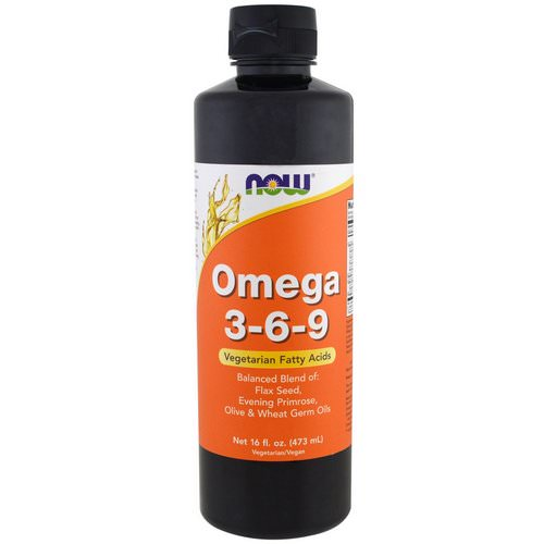 Now Foods, Omega 3-6-9, 16 fl oz (473 ml) Review