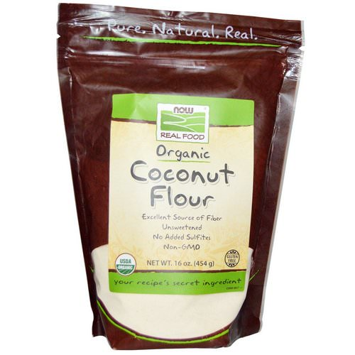 Now Foods, Organic Coconut Flour, 16 oz (454 g) Review