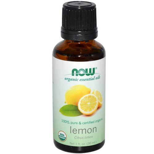 Now Foods, Organic Essential Oils, Lemon, 1 fl oz (30 ml) Review